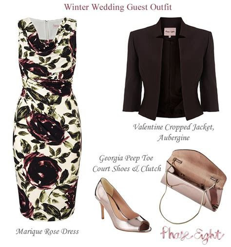 1000  ideas about Winter Wedding Guest Outfits on