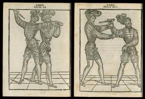 L'arte de l'Armi by Achille Marozzo, 1536 q