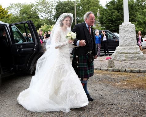 Game of Thrones? Rose Leslie Wears Lace Wedding Dress as