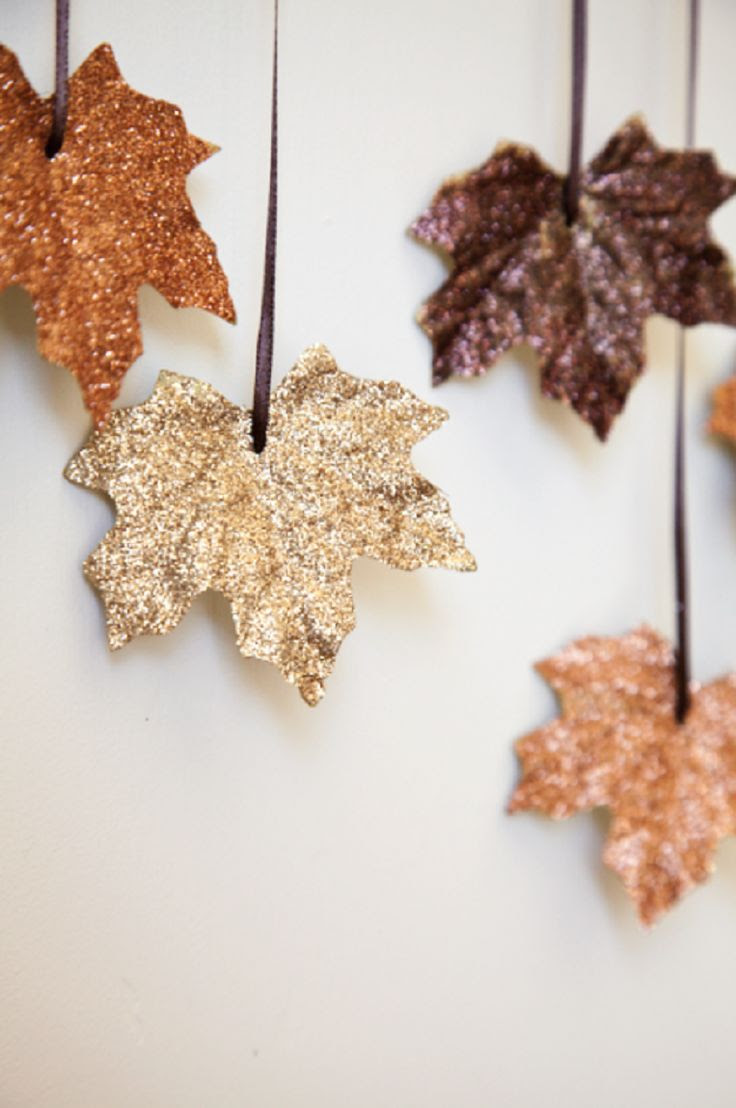 12 DIY Fall Decoration Tutorials - GleamItUp