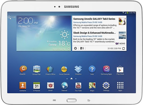 SIgnup for the Samsung Galaxy Tab Blogger Opportunity. Giveaway starts 2/28.