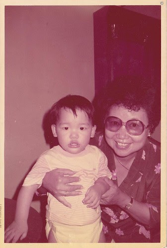 Grandma and I, June, 1985