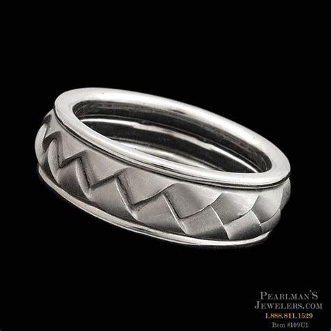 Scott Kay for Men Platinum Wedding Ring By Scott Kay