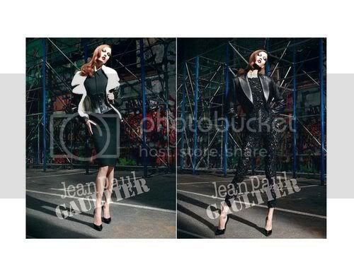 Karlie Kloss For Jean Paul Gaultier Fall 2012 Ad Campaign