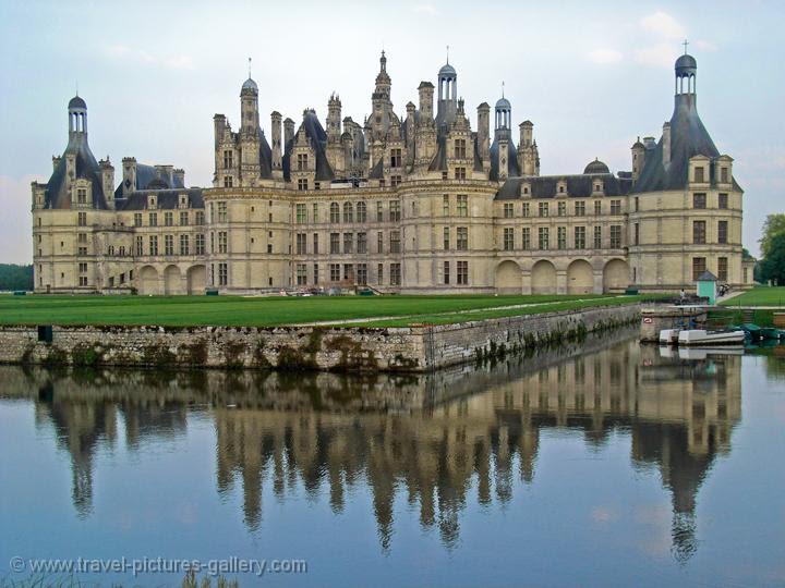Chambord Castle, châteaux de la Loire