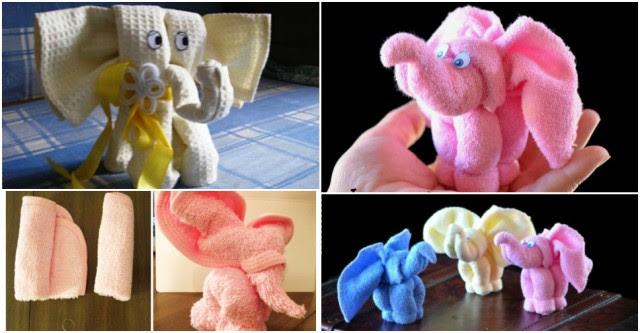 Towel Elephant Tutorial 1