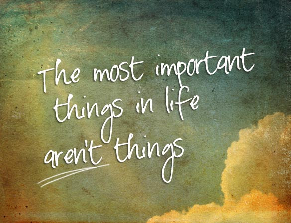 Quotes About Important Things 623 Quotes