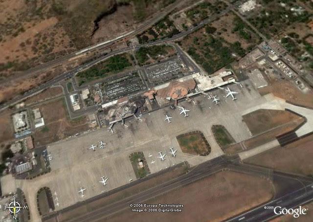 Chennai Airport Google Earth View Chennai International