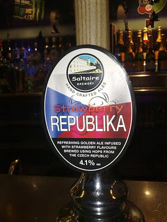 Saltaire, Strawberry Republika, England.