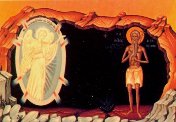 Αποτέλεσμα εικόνας για αγιος πετρος αθωνιτης παναγια