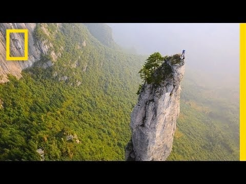 Climbing China's Incredible Cliffs