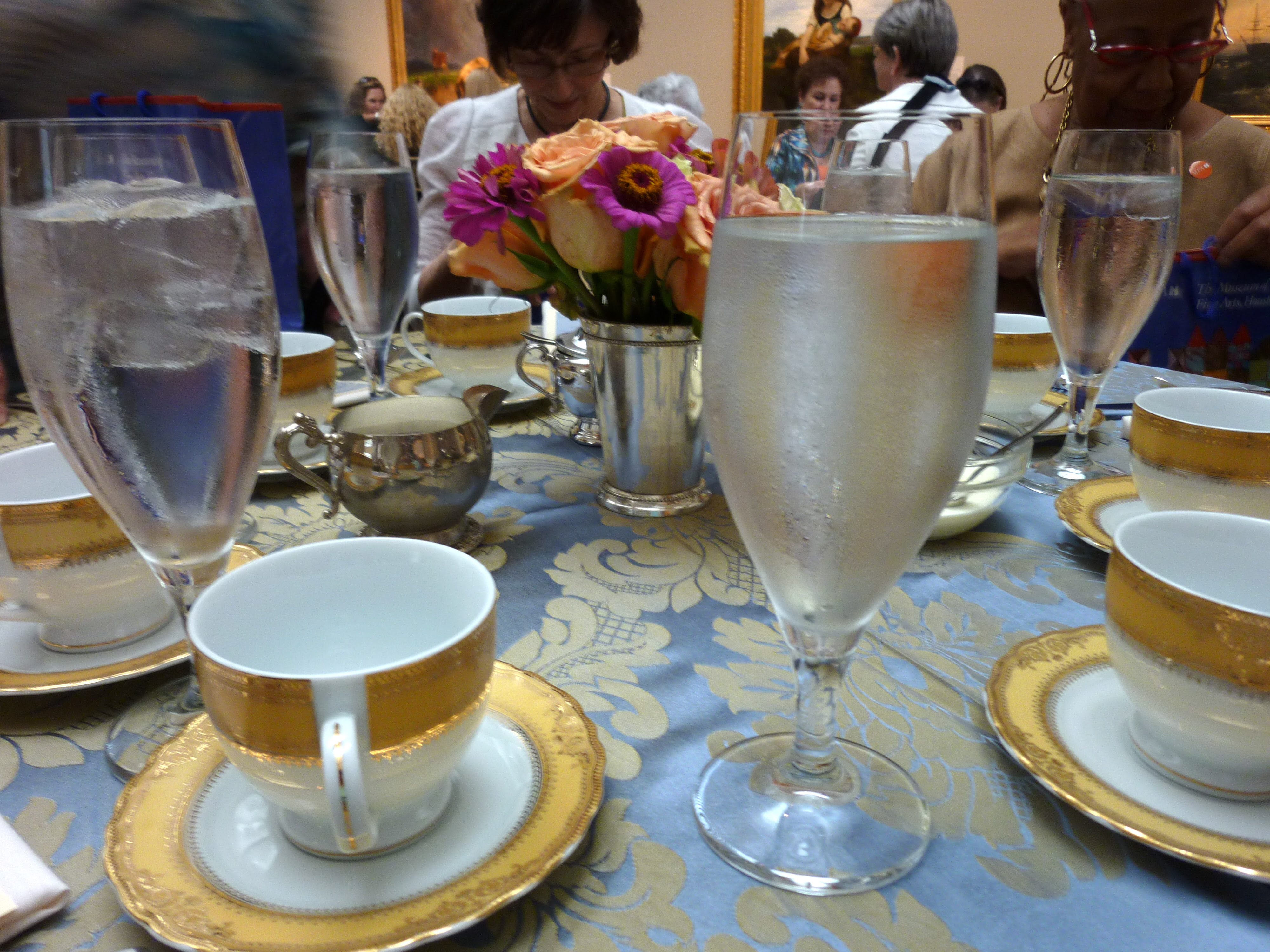 Low Tea At The Museum