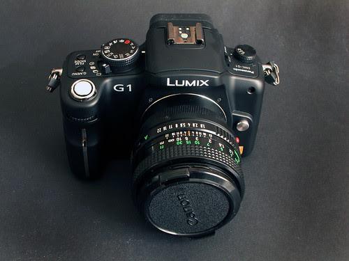 FD 50mm On Camera