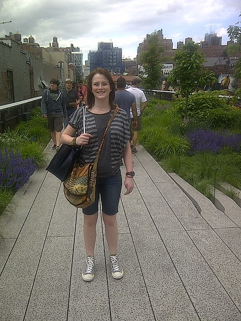 Certain people on the High Line