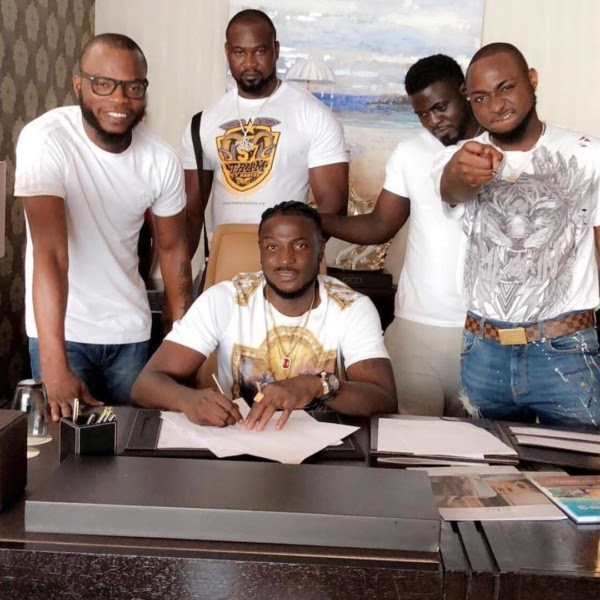 """I Did Not Sign Peruzzi"" – Davido Clears The Air As He Exchange Words With Golden Boy Entertainment Boss (See Full Gist)"