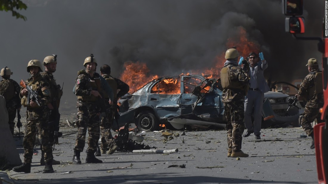Major Bombing In Kabul: Over 90 Killed