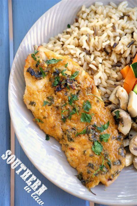 southern  law recipe healthy maple dijon baked chicken