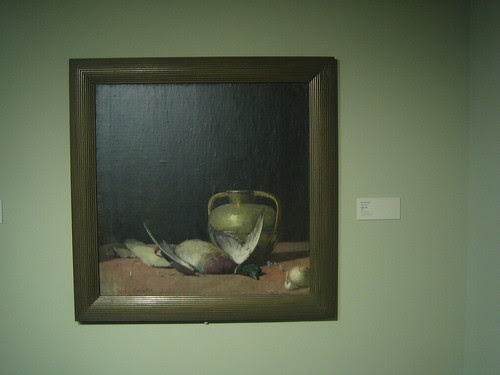 Still Life, 1891, Oil on Canvas, Emil Carlsen, Oakland Museum of California _ 9574