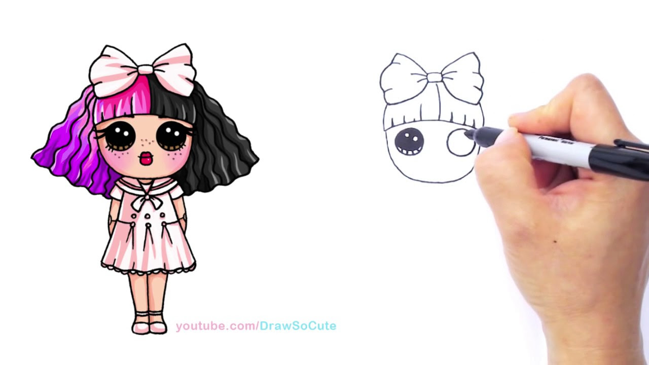 Melanie Martinez Cartoon Drawing At Getdrawingscom Free For