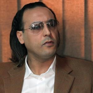 Hannibal Gaddafi, filho do ex-ditador líbio, em foto de 2010