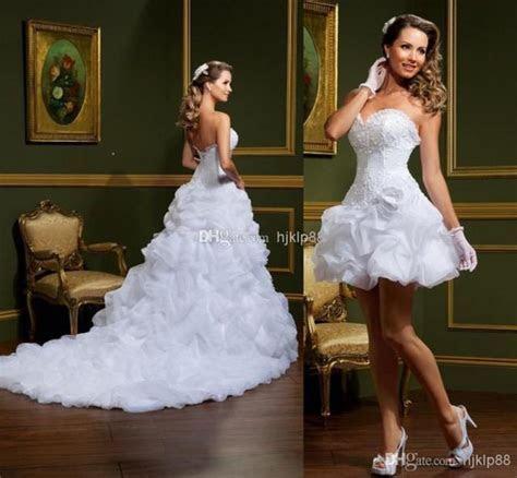 2014 New Vestido De Noiva White Ball Gown Wedding Dresses