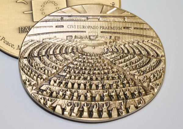 Medalla del Premio Ciudadano Europeo.