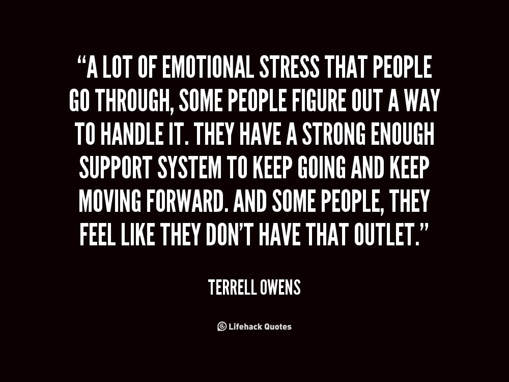 Emotional Support Quotes. QuotesGram