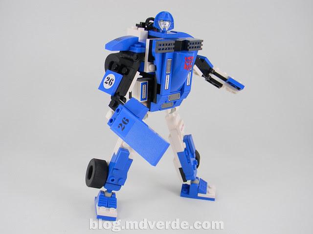 Transformers Mirage Kre-O - modo robot