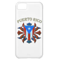 Puerto Rico - Shield iPhone 5C Case