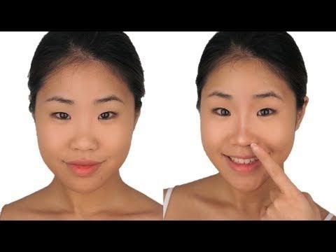 Asian Makeup Nose Stuffing