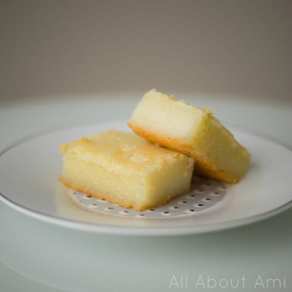 Baked Sweet Glutinous Rice Cake Recipe (Lian Gao) - All ...