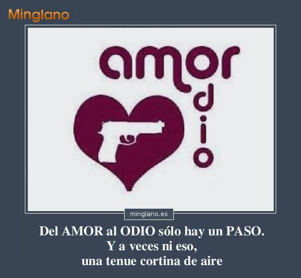 Frases Del Amor Al Odio