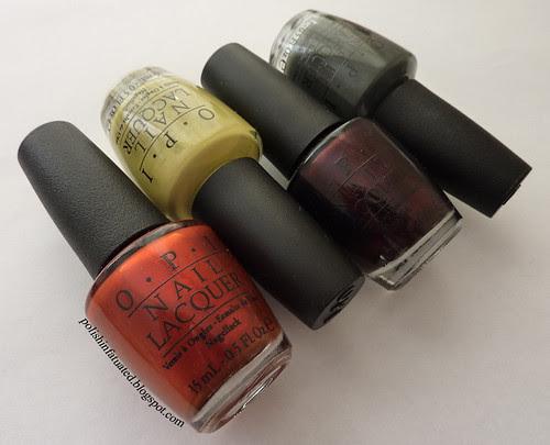 OPI Germany nail polishes