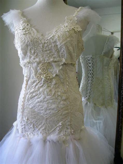 Fantasy Fairytale Wedding Dress, Boho Wedding Dress,Bridal
