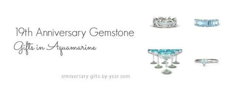 19th anniversary gift ideas from the gemstone list   16th