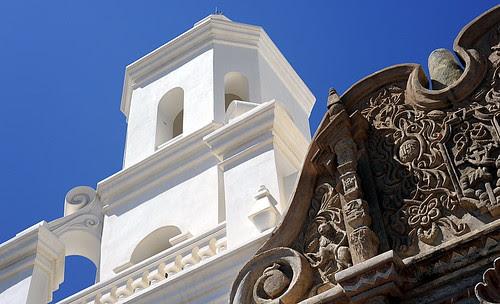 Front of San Xavier del Bac Church