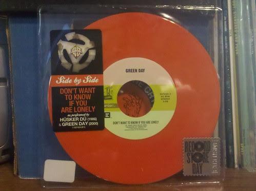 """Record Store Day Haul #4 - Green Day / Husker Du - Split 7"""""""