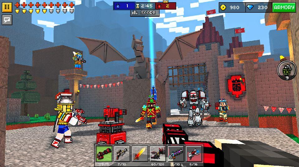 tải game Pixel Gun 3D miễn phí