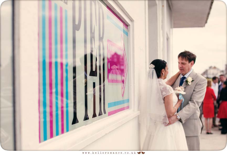Electric Picture Palace Wedding Photography Southwold Pier - Hello Romance