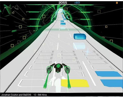 Audiosurf computer game - Review