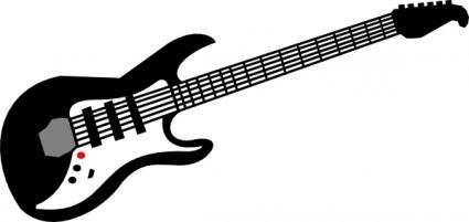 Guitarra Eléctrica Clip Art Vector Clip Art Vector Libre Descarga