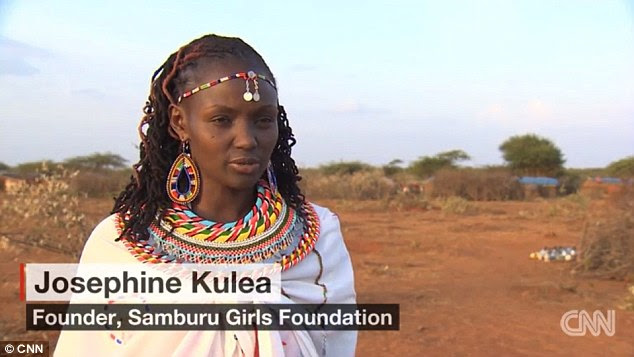 Josephine Kulea is trying to rescue Samburu girls as young as seven from being sold off to men for sex
