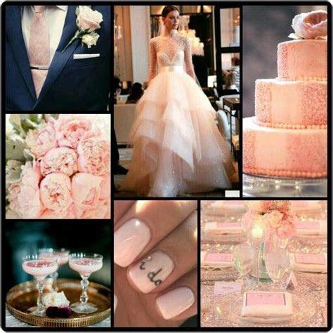 Petal Pink, Rose Quartz & Navy Blue Wedding Inspiration