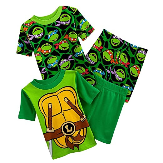 TEENAGE MUTANT NINJA TURTLES PAJAMA SETS FOR KIDS