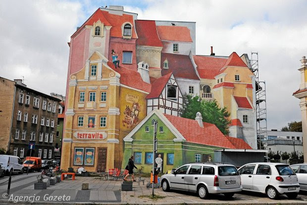 Murals In Polish Cities Polish Forum About Culture People