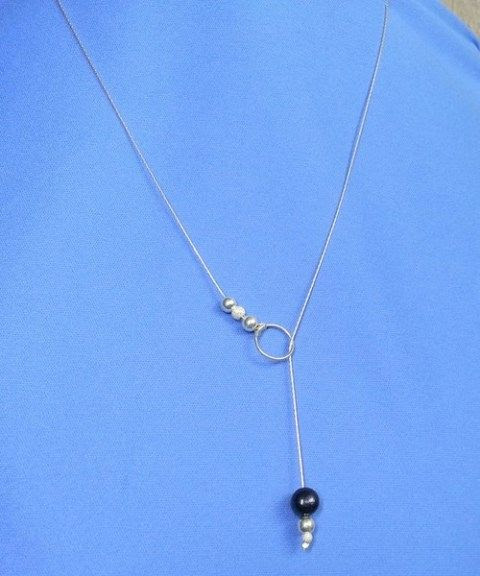 Fine Chain Lariat Necklace Tutorial - The Beading Gem's Journal