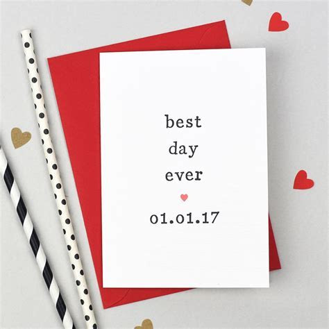 Personalised Parents Of Wedding Card   Greeting Cards