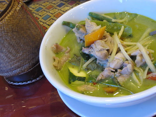 Green Curry w/Sticky Rice
