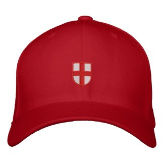 England Embroidered Hat zazzle_embroideredhat