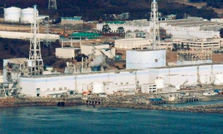 File photo shows the Fukushima Daiichi nuclear power plant in Fukushima